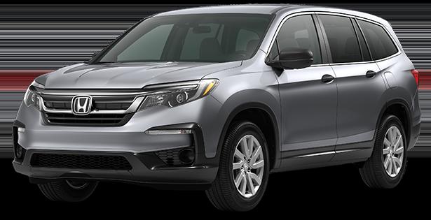 2019-Honda-Trim-Models-Pilot-LX-Silver