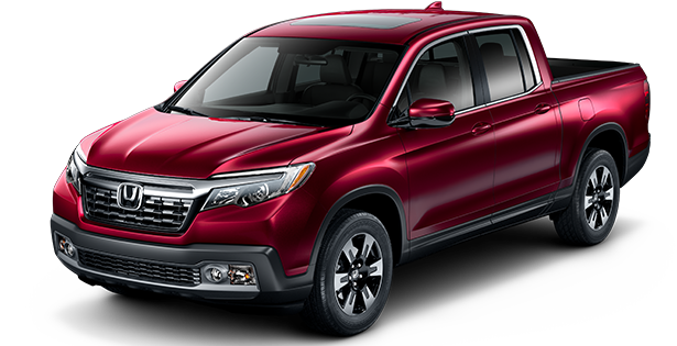 2019-Honda-Trim-Models-Ridgeline-RTL-Red