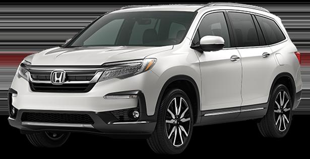 2019-Honda-Trim-Models-Pilot-Touring-White