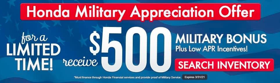 Honda Military Special