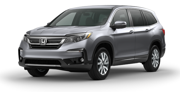 Honda-Trim-Models-Pilot-EX-Silver