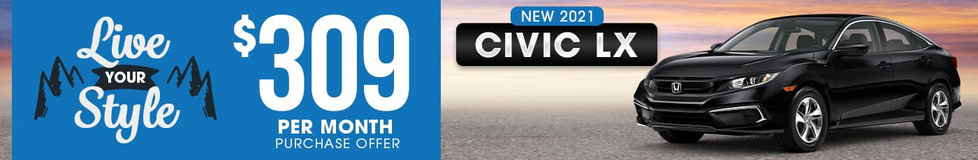 New Honda Civic Special