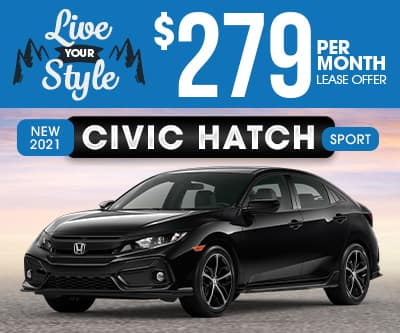 2021 Honda Civic Hatchback Special