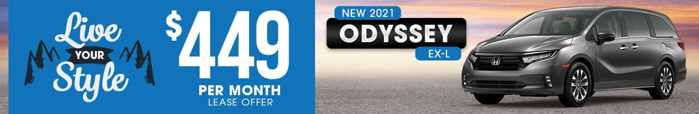 New Honda Odyssey Special