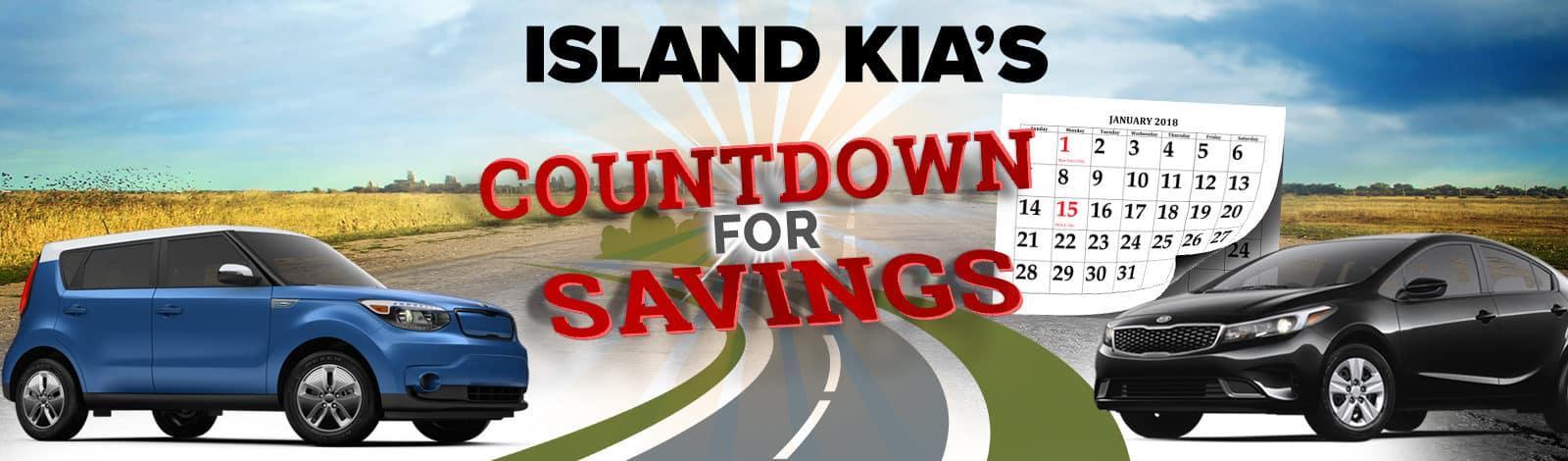 Island Kia Countdown Banner