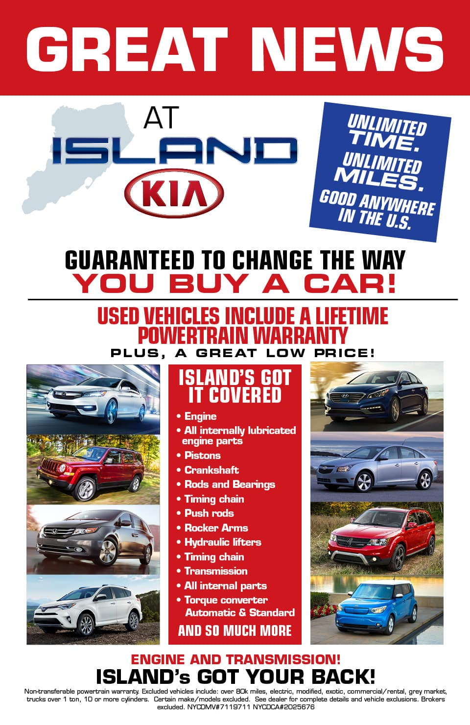 Staten Island Used Car Warranty Kia Dealership Near Woodbridge Nyc