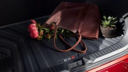 Trunk Space in the Mazda CX-3
