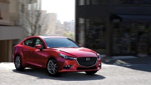 Red Mazda3