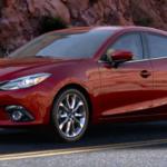 Red 2016 Mazda3