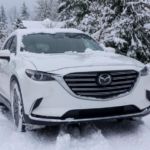 Mazda CX-9 SUV in Snow