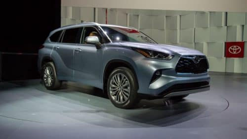 2020 Toyota Highlander Debuted