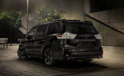 2020 Toyota Sienna Nightshde