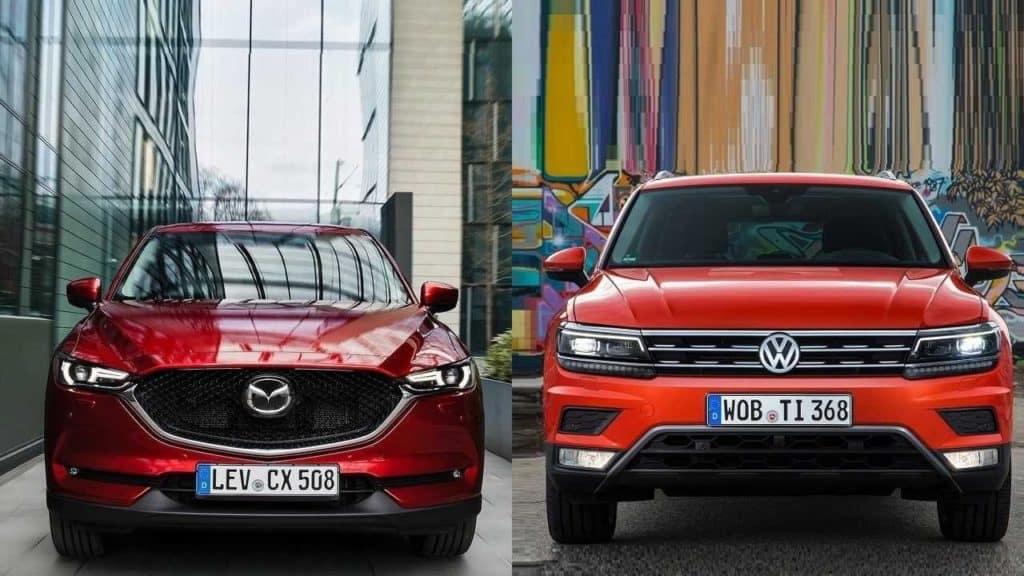 2017 Vw Tiguan Vs 2017 Mazda Cx 5 Island Volkswagen