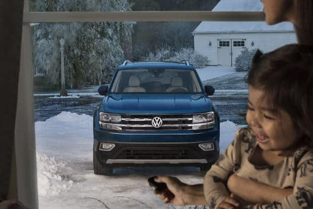 Volkswagen Atlas in Snow