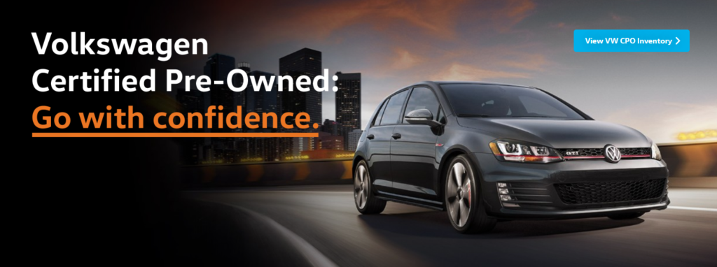 Certified Preowned Volkswagen Vehicles in Staten Island