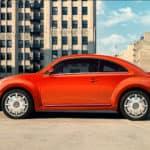 Staten Island Red Volkswagen Beetle