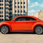 2019 Red VW Beetle