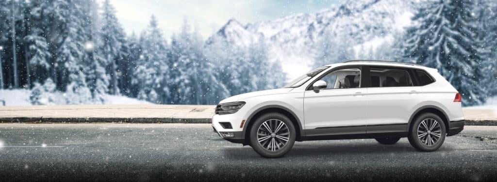 Volkswagen in Winter