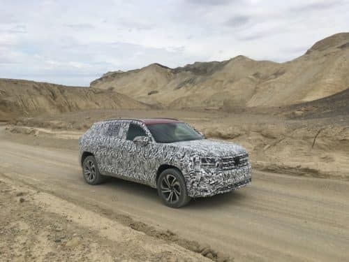 2020 VW Atlas Cross Sport Prototype