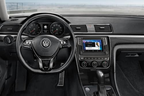 Interior of 2019 VW Passat