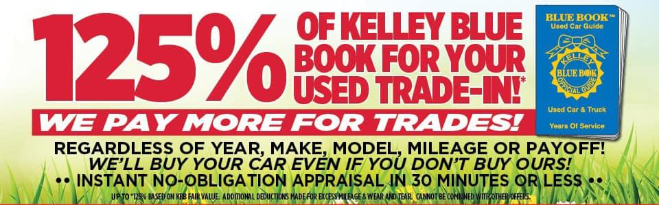 KBB trade in offer