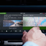 Jaguar XF InControl Touch Screen