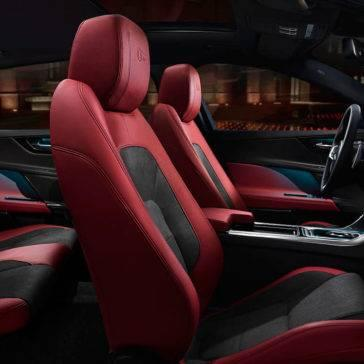 2018-jaguar-xe-interior-red-seats