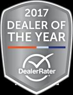 DealerRater Dealer of the Year 2017