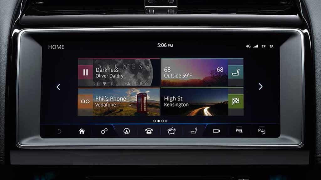 2018 Jaguar XE Incontrol Touch Pro
