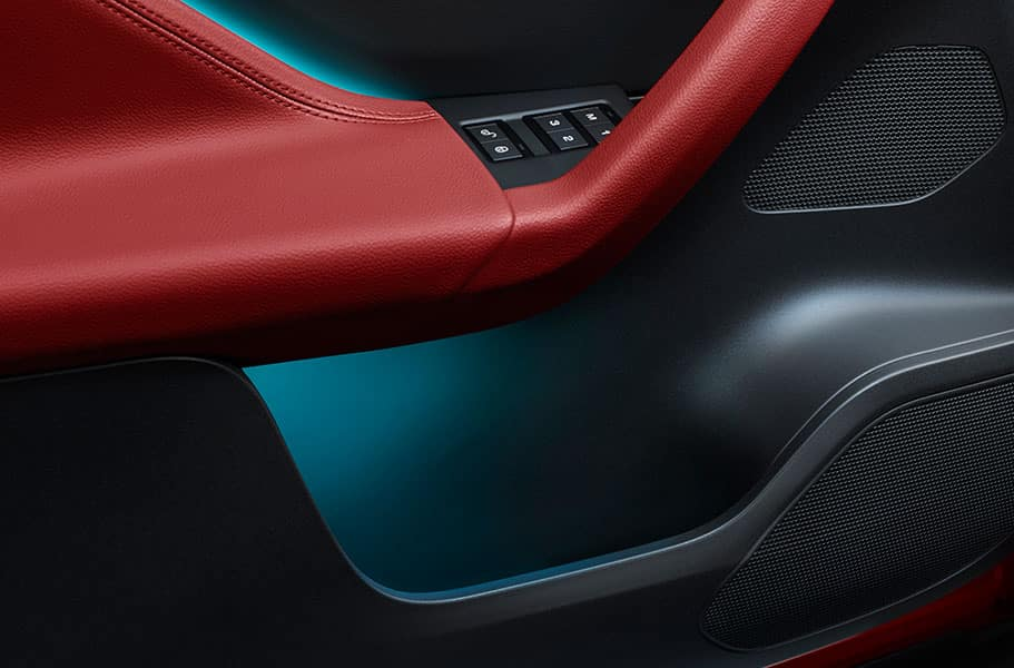 2018 Jaguar F-PACE Mood Lighting