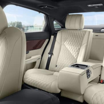 2018 Jaguar XJ Interior Rear Seats