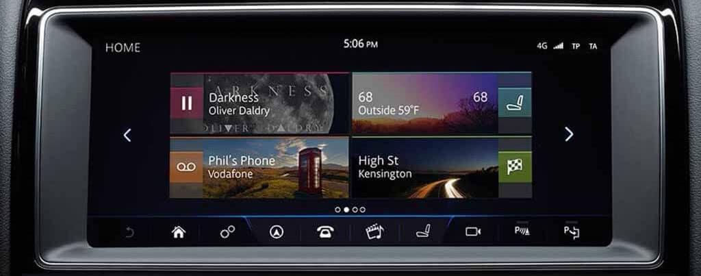 2018 Jaguar XE Incontrol Touch Pro banner