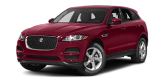 Photo of red Jaguar F-Pace