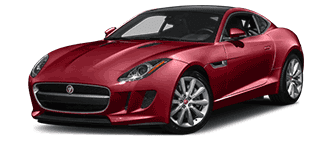 Photo of a red Jaguar F-Type