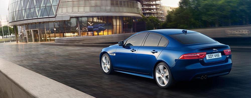 Blue 2018 Jaguar XE