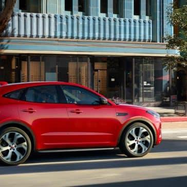 2018 Jaguar E-PACE First Edition driving