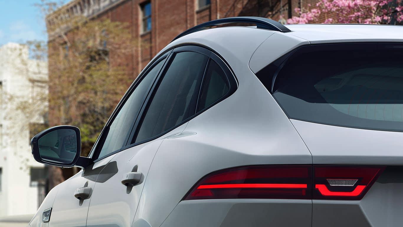 2018 Jaguar E-PACE closeup shot of side