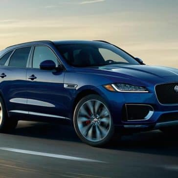 2019 Jaguar F-Pace Exterior on the road