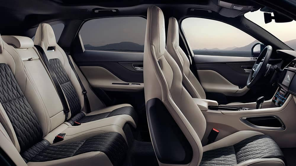 2019 Jaguar F-Pace Interior Gallery 5