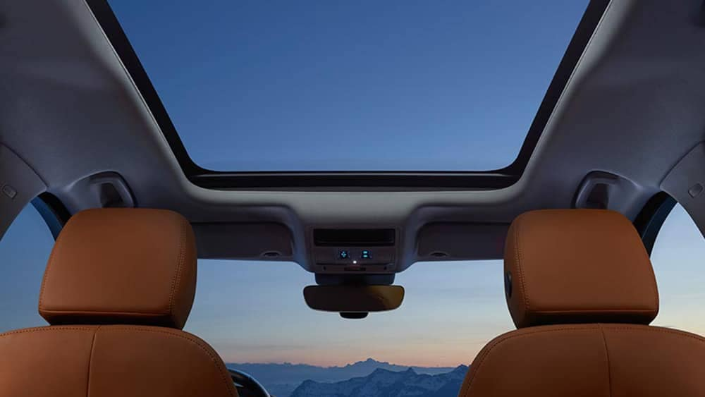 2019 Jaguar F-Pace Interior sunroof