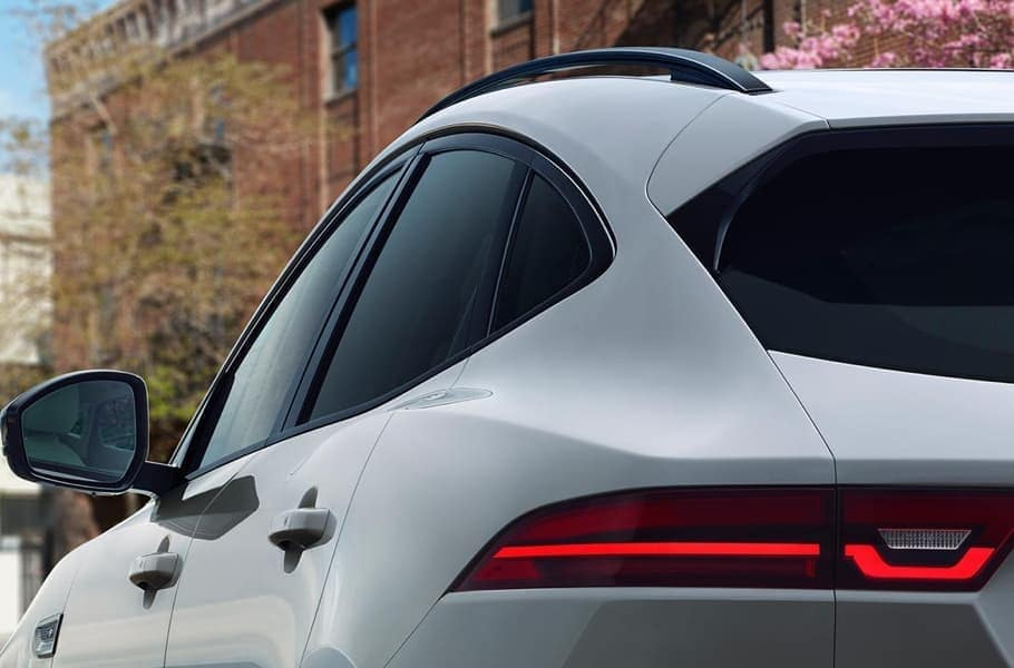 2019 Jaguar E-PACE rear view