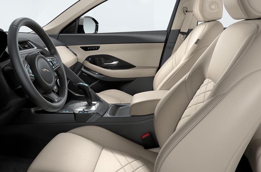 2019 Jaguar E-PACE front seating