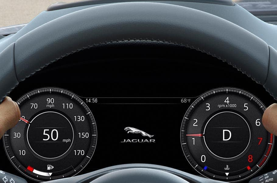 2019 Jaguar E-PACE steering wheel