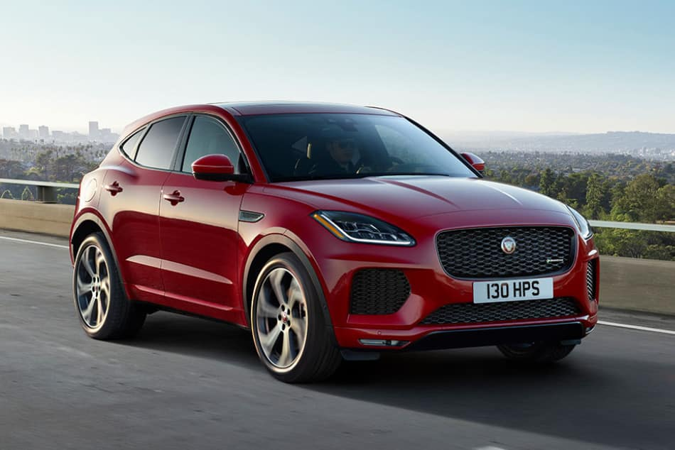 2019 Jaguar E-PACE - Red