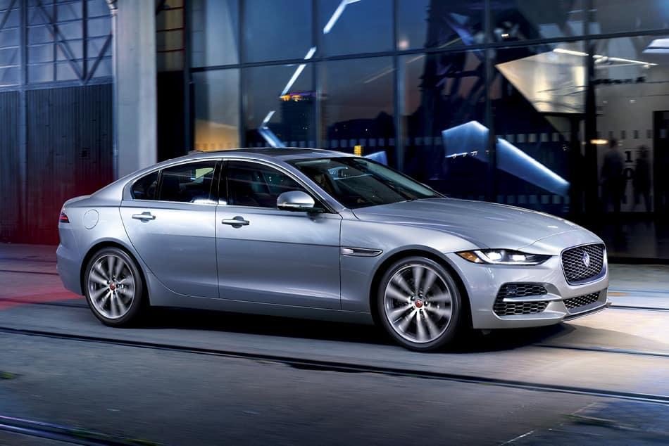 2020 Jaguar XE - Silver