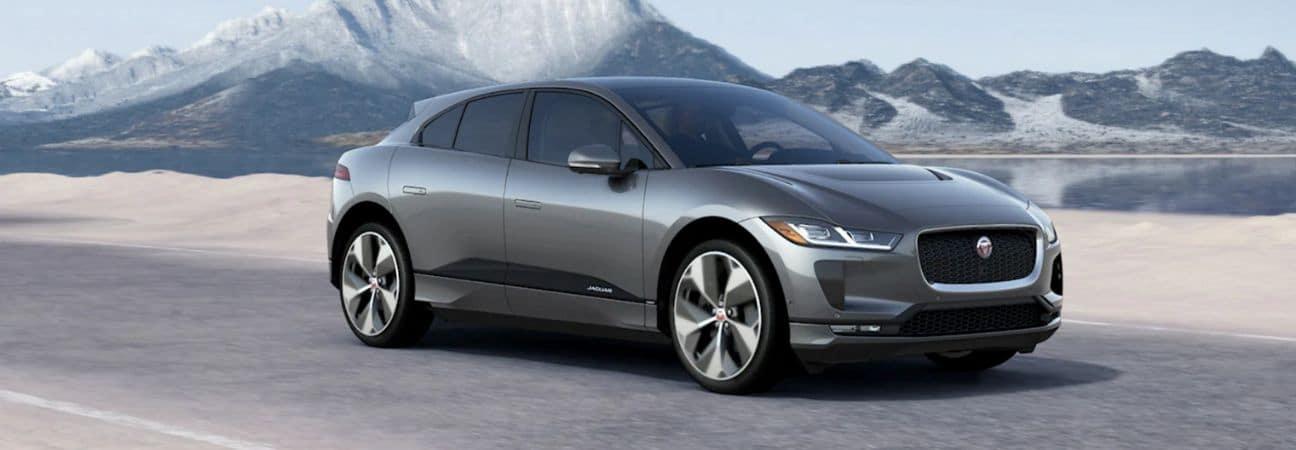 2020 Jaguar I-Pace grey sedan