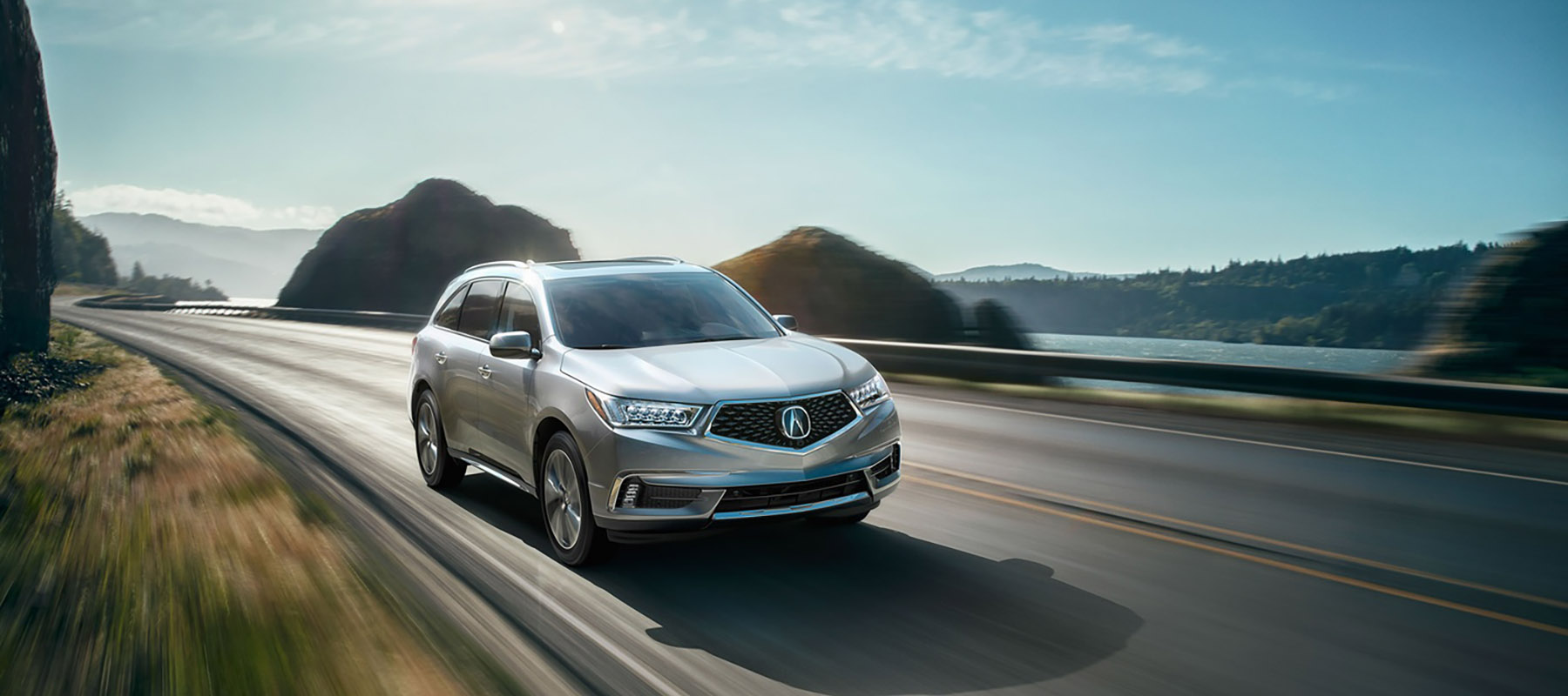 2017 Acura MDX Driving