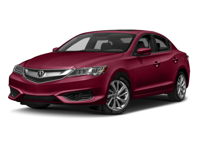 2017 Acura ILX red