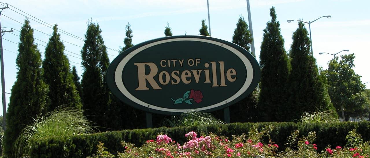 Roseville Sign banner