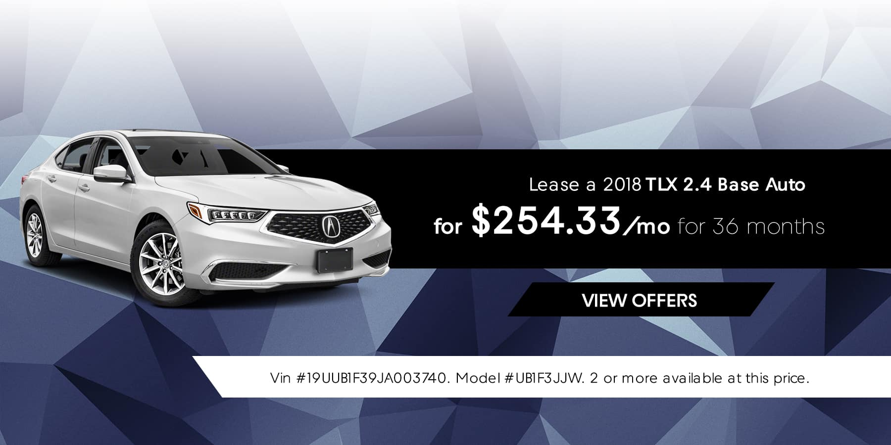 TLX January Offer Jeffrey Acura